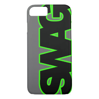 Neon Green SWAG iPhone 8/7 Case