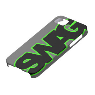Neon Green SWAG iPhone SE/5/5s Case