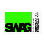 Neon Green SWAG Postage