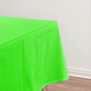 Superieur Neon Green Tablecloth