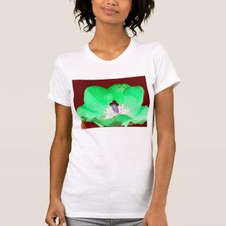 Neon Green Tulip T-shirt