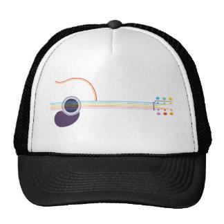 Neon Guitar Hat