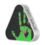Neon Handprint Speaker