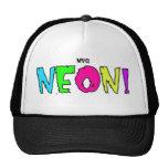 neon hats