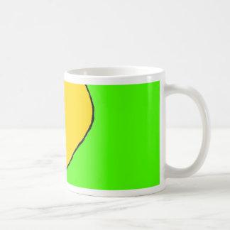 Neon Heart Coffee Mug