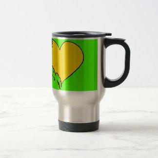Neon Heart Travel Mug