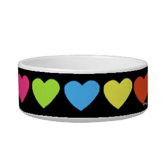 Neon Hearts Bowl