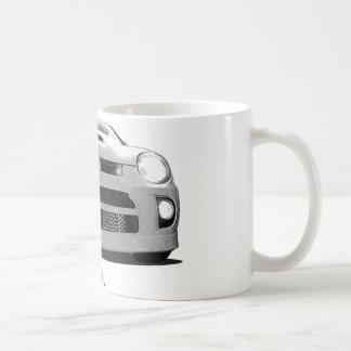 """Neón """"hola. """" taza de café"""