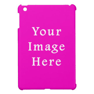 Blank ipad cases zazzle neon hot pink color trend blank template ipad mini cover pronofoot35fo Gallery