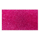 Neon hot pink glitter Double-Sided standard business cards (Pack of 100)