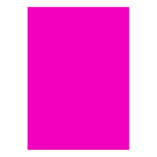 Neon Hot Pink Light Bright Fashion Color Trend Large Business Card