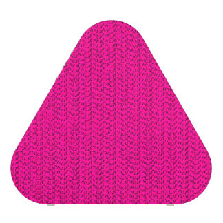 Neon Hot Pink Weave Mesh Look Bluetooth Speaker