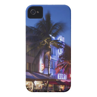 Neon hotel at night, Ocean Drive, South Miami Beac Case-Mate iPhone 4 Case