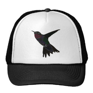 Neon Hummingbird Mesh Hat