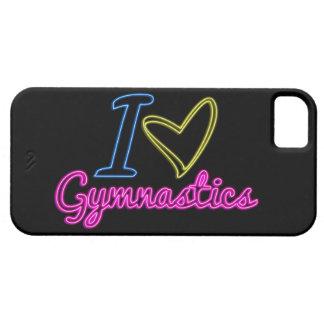 Neon I Love Gymnastics iPhone 5/5s Case