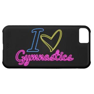 Neon I Love Gymnastics iPhone 5c Case