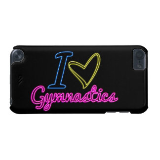 Neon I Love Gymnastics iPod Touch 5 Case iPod Touch (5th Generation) Cover