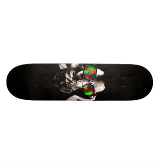 Neon I.Q. Skateboard Deck