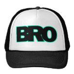 Neon Indigo BRO Trucker Hat