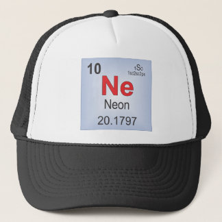 Neon Individual Element of the Periodic Table Trucker Hat