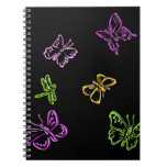 Neon Insects Note Book