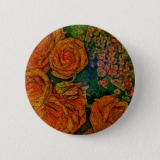 Neon Ivory Roses Scene Button