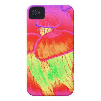 Neon Jellyfish Case-Mate iPhone 4 Cases