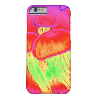 Neon Jellyfish Barely There iPhone 6 Case