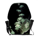 Neon Jellyfish Messenger Bags