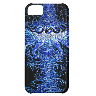 Neon Jellyfish Tornado Graphic Art Design Iphone iPhone 5C Case