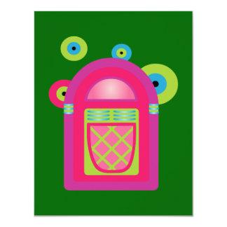 Neon Jukebox Card