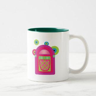 Neon Jukebox Coffee Mugs