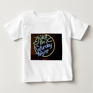 Neon Jukebox Sign Baby T-Shirt