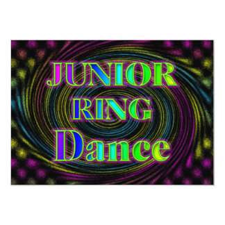 NEON JUNIOR RING INVITATION