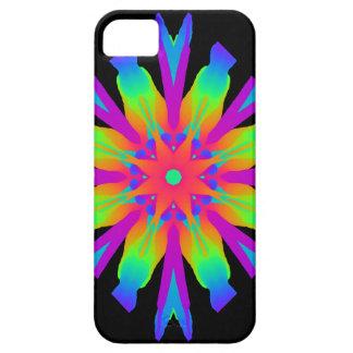 Neon Kaleidoscope Flower iPhone 5 Cover
