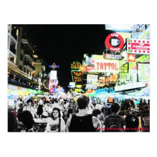 Neon Khaosan Postcard