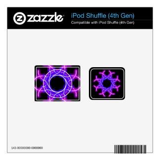 neon knot work ipod shuffle skin for iPod shuffle