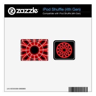 neon knot work ipod shuffle skins for iPod shuffle 4G