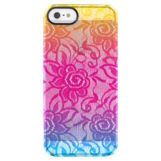 Neon Lace Uncommon Clearly™ Deflector iPhone 5 Case