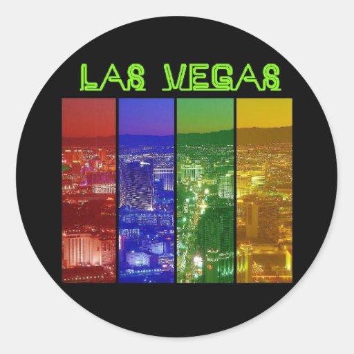 Neon las vegas strip sticker zazzle for Arts and crafts stores in las vegas