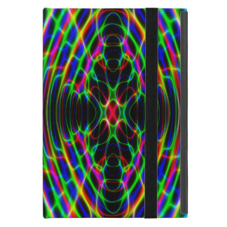 Neon Laser Light Psychedelic Abstract iPad Mini Case