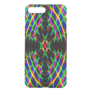 Neon Laser Light Psychedelic Abstract iPhone 8 Plus/7 Plus Case