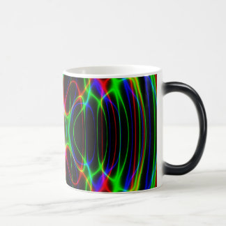 Neon Laser Light Psychedelic Abstract Magic Mug