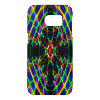 Neon Laser Light Psychedelic Abstract Samsung Galaxy S7 Case