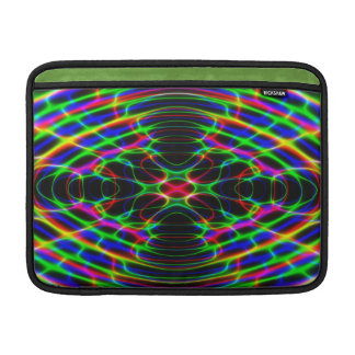 Neon Laser Light Psychedelic Abstract Sleeve For MacBook Air