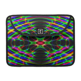 Neon Laser Light Psychedelic Abstract Sleeves For MacBook Pro