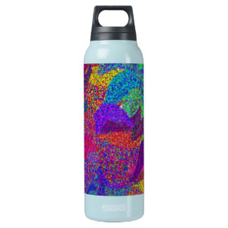Neon leaves in the Fall Insulated Water Bottle