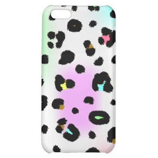 Neon Leopard  Cover For iPhone 5C