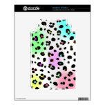 Neon Leopard Print Kindle 3 Skin
