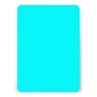 Neon light blue hex code 00ffff custom invites